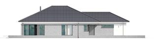 Projekt domu Alison G2 ENERGO PLUS - elewacja lewa