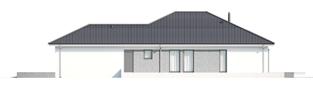 Projekt domu Alison G2 ENERGO PLUS - elewacja prawa