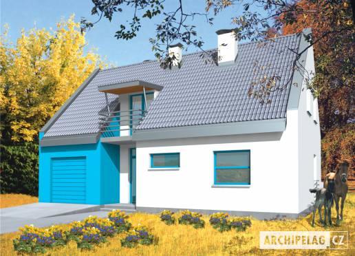 Projekt rodinného domu - Tina