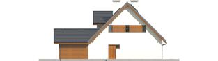 Projekt domu Kalina (nowa) G1 - elewacja prawa