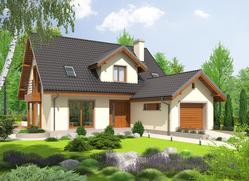 Projekt rodinného domu: Kalina