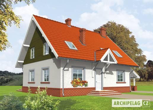 Projekt rodinného domu - Honorka