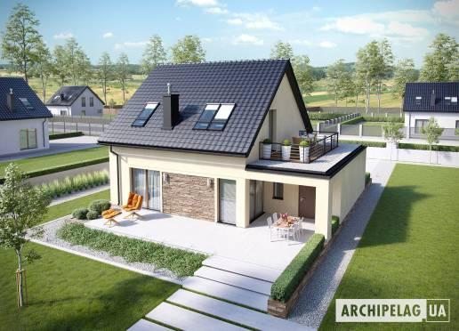 Проект будинку - Е14 ІIІ (Г1, Економ)