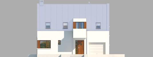 Liv 6 G1 - Projekt domu Liv 6 G1 - elewacja frontowa