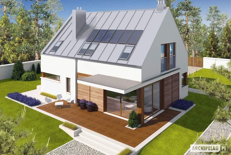 Projekt domu Liv 6 G1 - widok z góry