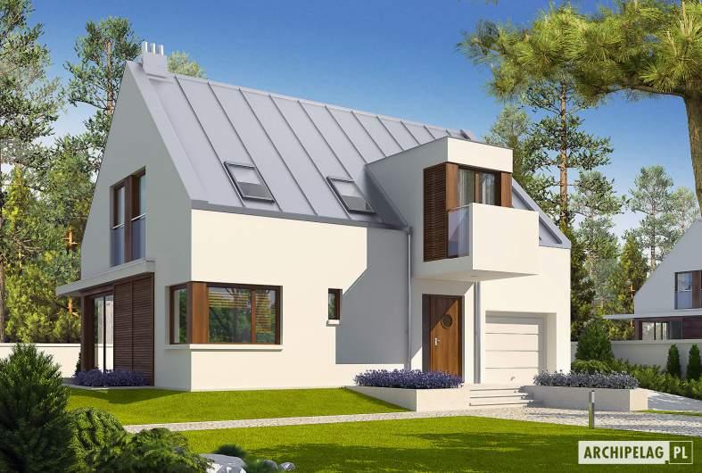 Projekt domu Liv 6 G1 - wizualizacja frontowa