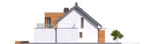 Projekt domu Nils G2 - elewacja prawa