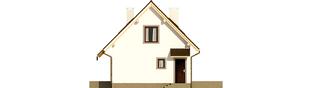 Projekt domu Celinka Mocca - elewacja prawa