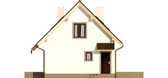 Celinka - Projekt domu Celinka Mocca - elewacja prawa