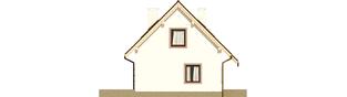 Projekt domu Celinka Mocca - elewacja lewa