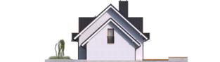 Projekt domu April G1 - elewacja prawa