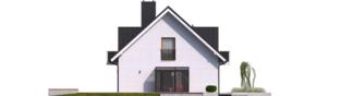 Projekt domu April G1 - elewacja lewa