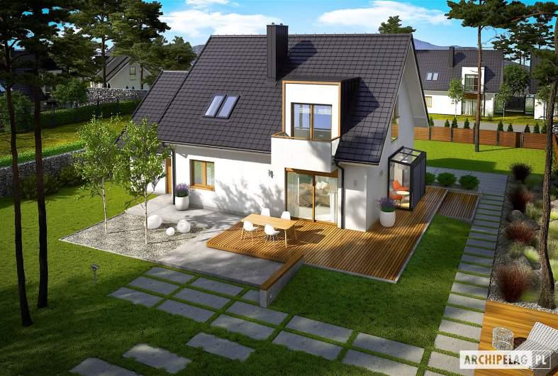 Projekt domu April G1 -