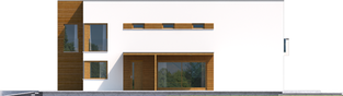 Projekt domu EX 5 G1 ENERGO PLUS - elewacja prawa