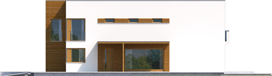 Екс 5 (Г1, Енерго) * - Projekt domu EX 5 G1 - elewacja prawa