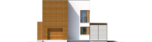 Екс 5 (Г1, Енерго) * - Projekt domu EX 5 G1 - elewacja frontowa