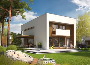 Namų projektai: dviejų aukštų