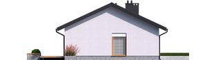 Projekt domu Mini 3 - elewacja lewa