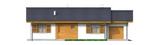 Projekt domu Manuela G1 - elewacja frontowa
