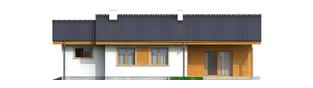 Projekt domu Manuela G1 - elewacja tylna