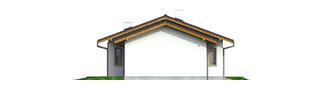 Projekt domu Manuela G1 - elewacja prawa