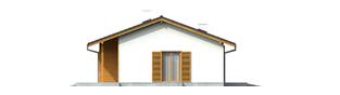 Projekt domu Manuela G1 - elewacja lewa