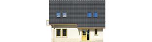 Projekt domu Oleńka - elewacja frontowa