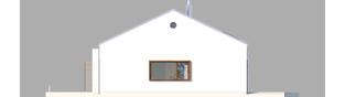 Projekt domu EX 8 G2 (wersja A) ENERGO PLUS - elewacja prawa