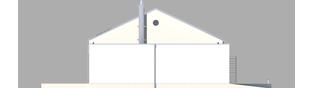 Projekt domu EX 8 G2 (wersja A) ENERGO PLUS - elewacja lewa
