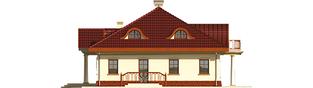 Projekt domu Radomiła G1 - elewacja prawa