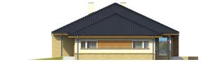 Projekt domu Flori G1 - elewacja prawa