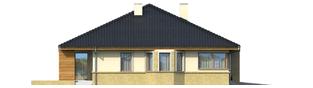 Projekt domu Flori G1 - elewacja lewa