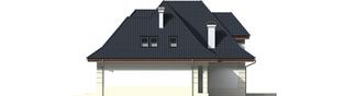 Projekt domu Nasturcja G2 - elewacja prawa
