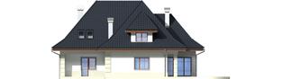 Projekt domu Nasturcja G2 - elewacja tylna
