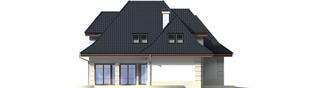 Projekt domu Nasturcja G2 - elewacja lewa