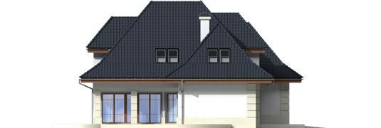 Nancie G2 - Projekt domu Nasturcja G2 - elewacja lewa