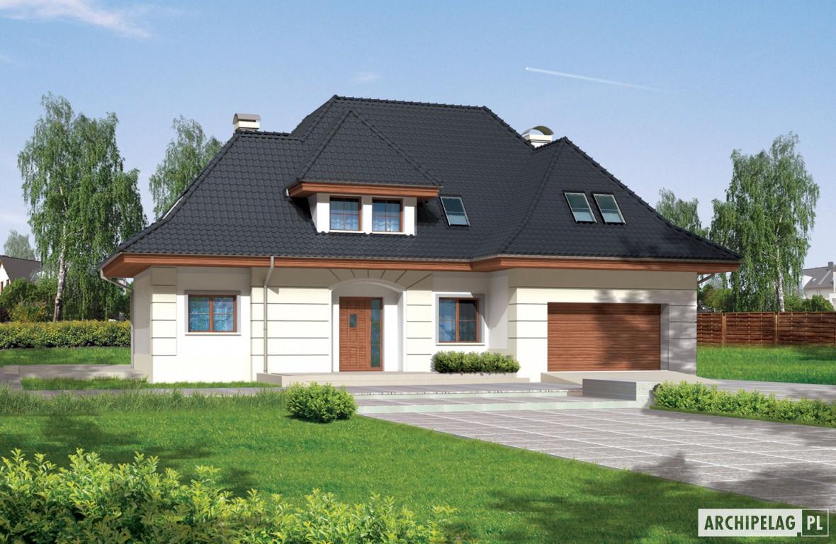 Nasturcja G2 - projekt domu z kosztorysem - Archipelag