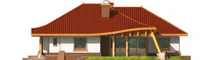 Projekt domu Sandra G2 - elewacja prawa