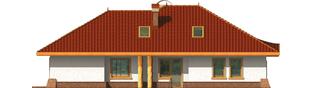 Projekt domu Sandra G2 - elewacja lewa
