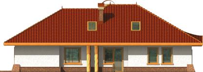 Sandra - Projekt domu Sandra G2 - elewacja lewa