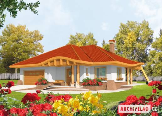 Projekt rodinného domu - Sandra