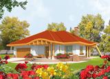 Projekt rodinného domu: Sandra