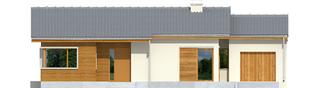 Projekt domu Bob G1 - elewacja frontowa