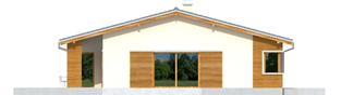 Projekt domu Bob G1 - elewacja lewa