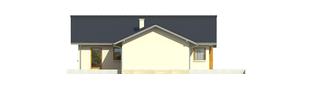 Projekt domu Selena II G1 (30 stopni) - elewacja lewa