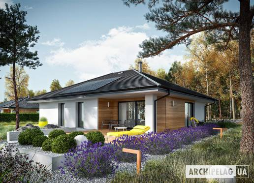 Проект будинку - Міні 4 +