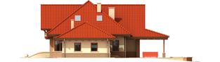 Projekt domu Edek G2 01 - elewacja prawa