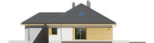 Projekt domu Astrid (mała) II G1 - elewacja prawa