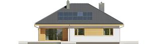 Projekt domu Astrid (mała) II G1 - elewacja tylna