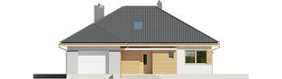 Projekt domu Astrid (mała) II G1 - elewacja frontowa
